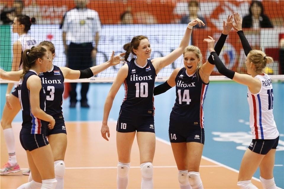 Holandesas superam as italianas e assumem a liderança do Pré-Olímpico