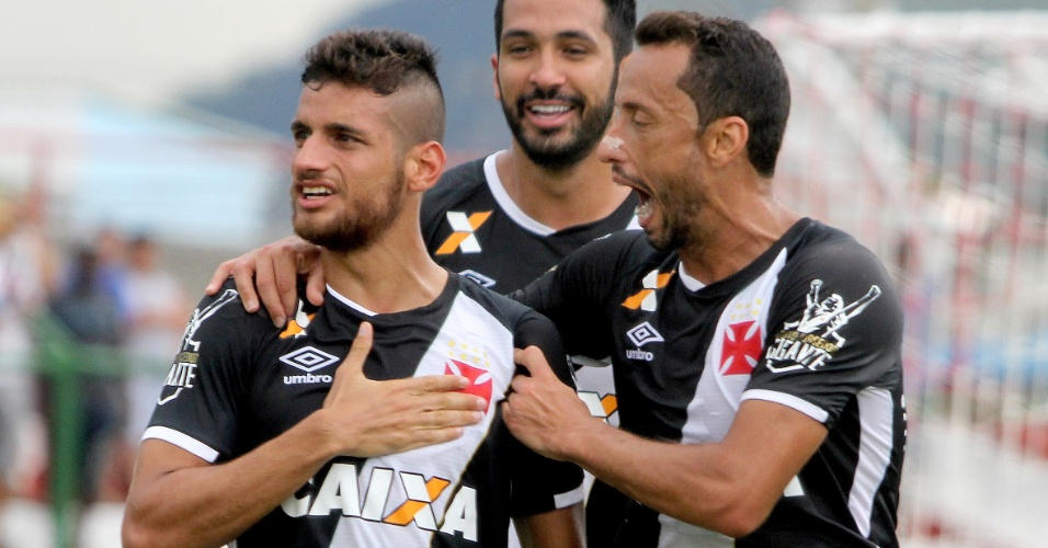 Guilherme Costa se emociona ao marcar para o Vasco contra o Bangu