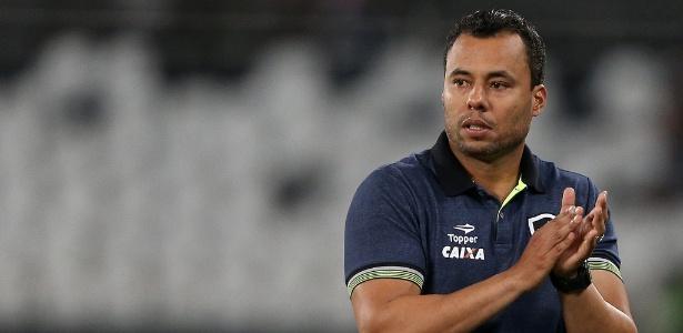 Expulso contra o Fluminense, Jair Ventura viu o jogo contra o Bangu das arquibancadas - Vitor Silva/SSPress/Botafogo