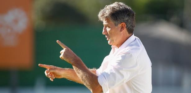 Renato Gaúcho citou goleada contra o Juventude ao falar da fase do Grêmio