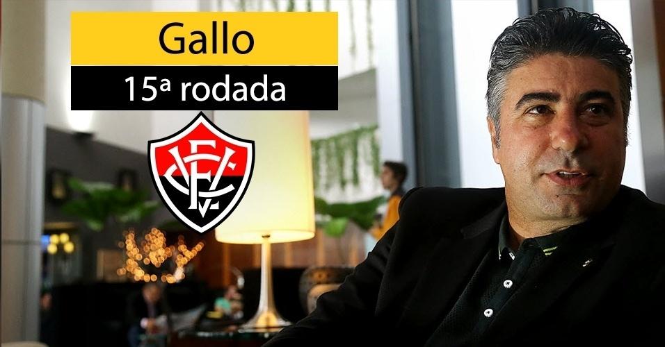 Alexandre Gallo foi demitido pelo Vitória após 11 jogos