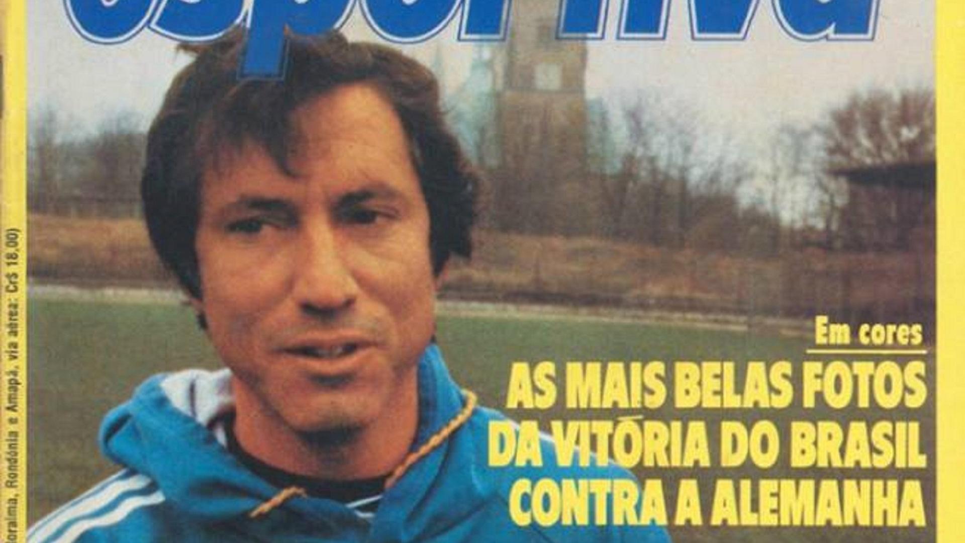 Revista Manchete Esportiva com Cláudio Coutinho na capa
