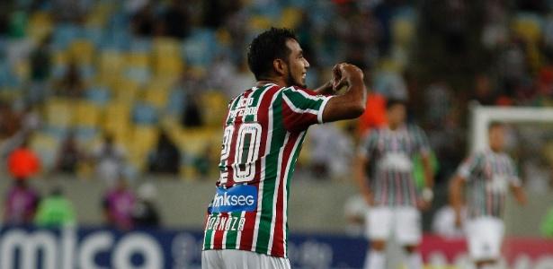 Sornoza teve atuação de gala contra o Salgueiro: um gol e três assistências - Nelson Perez/Fluminense
