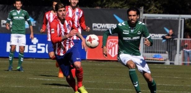 Lassad Nouioui (à direita) defende o Toledo, time da terceira divisão espanhola - Laura Pérez/CD Toledo