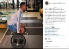 Antônio Carlos abre mão de folga para fazer musculação no Palmeiras - Reprodução/Instagram