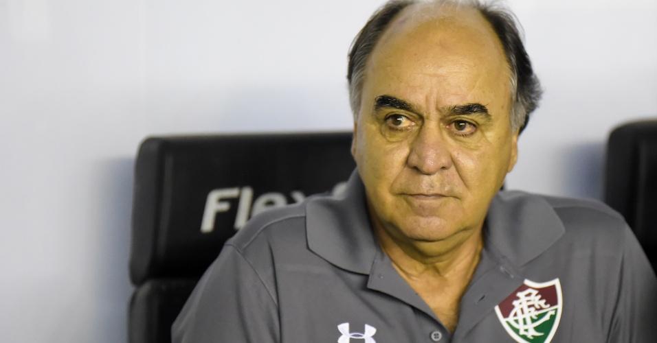 Marcelo Oliveira comandou o Fluminense no clássico contra o Vasco em São Januário