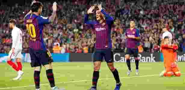 Messi marca e sai lesionado em vitória do novo líder Barça sobre Sevilla d9954a105cdd3
