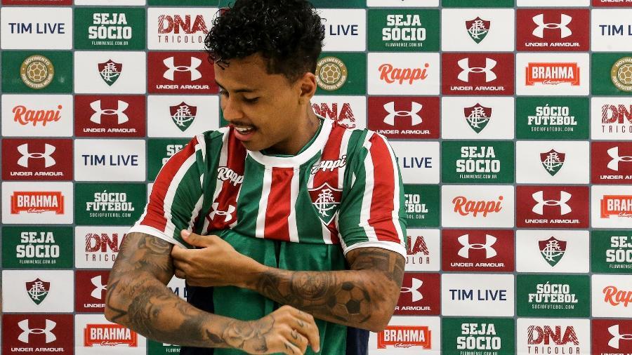 Volante Allan, do Fluminense: jogador tem bom início no clube - Lucas Merçon/Fluminense