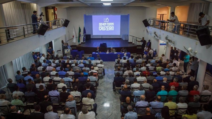 Conselho Deliberativo do Cruzeiro se reunirá em Assembleia Geral para votar contas de 2018 - Vinnicius Silva/Cruzeiro