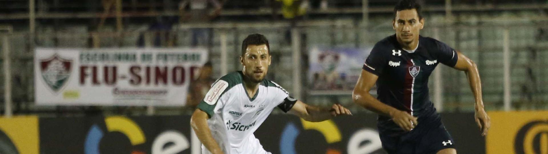 PH Ganso do Fluminense durante partida contra Luverdense