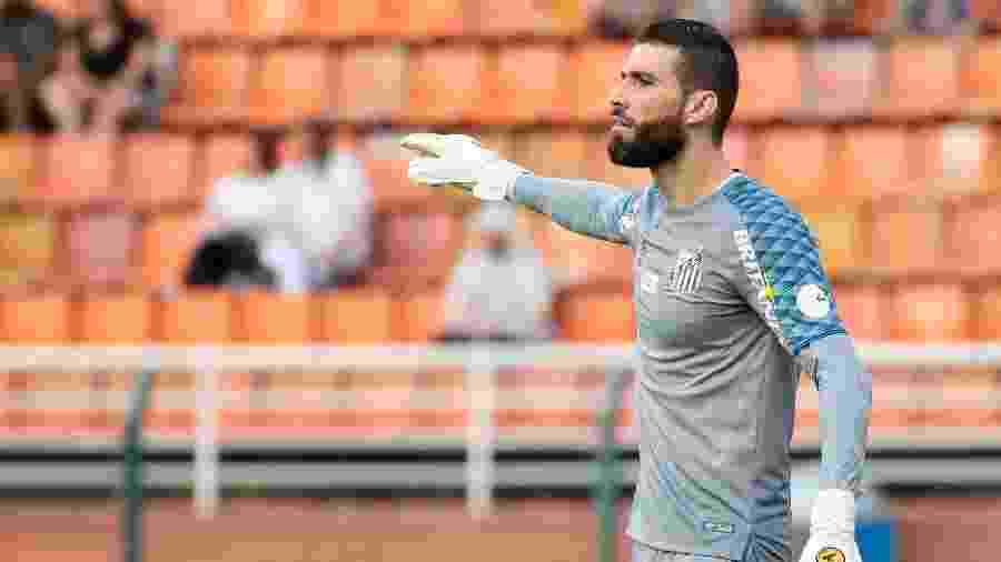 Vanderlei, goleiro do Santos - Marcello Zambrana/AGIF