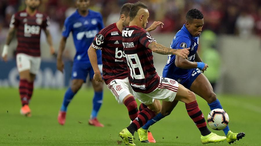 Fla venceu o Emelec nos pênaltis e avançou às quartas da Libertadores - Thiago Ribeiro/AGIF