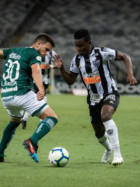 Cazares, durante partida entre Atlético-MG e Goiás - Alessandra Torres/AGIF
