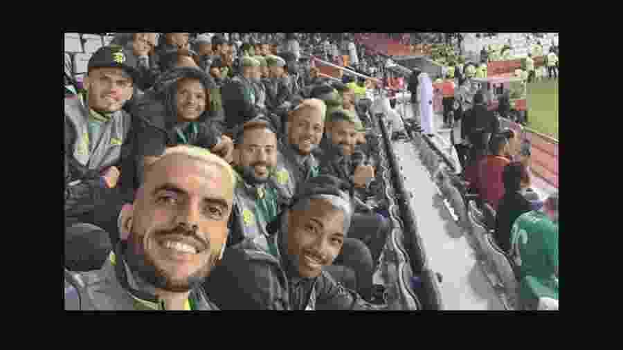 Jogadores do Fla vão a estádio acompanhar Al Hilal x Espérance pelo Mundial  - Reprodução