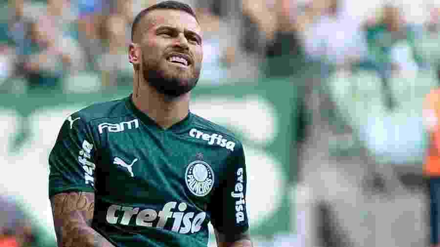 Lucas Lima no duelo entre Palmeiras x Ferroviária - Bruno Ulivieri/Agif