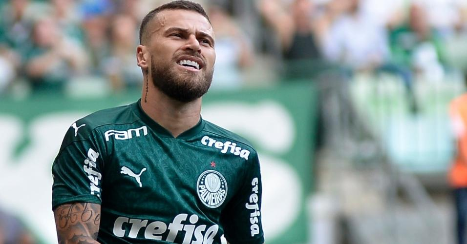 Lucas Lima no duelo entre Palmeiras x Ferroviária