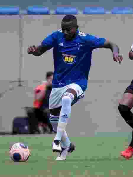 Jonathan, zagueiro do sub-20 do Cruzeiro, pode ser negociado no mercado da bola - Gustavo Aleixo/Cruzeiro - Gustavo Aleixo/Cruzeiro