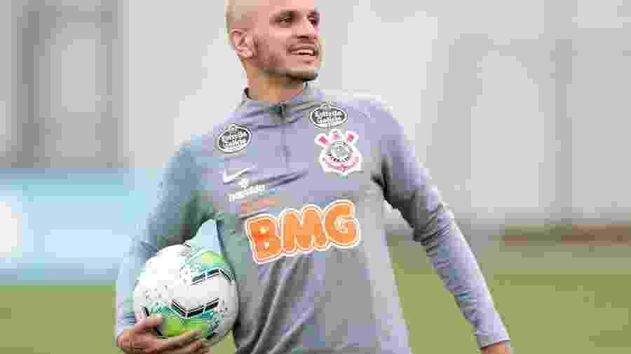 Fábio Santos pode reestrear com a camisa do Corinthians nesta quarta-feira, diante do Vasco, em São Januário - Rodrigo Coca/Agência Corinthians