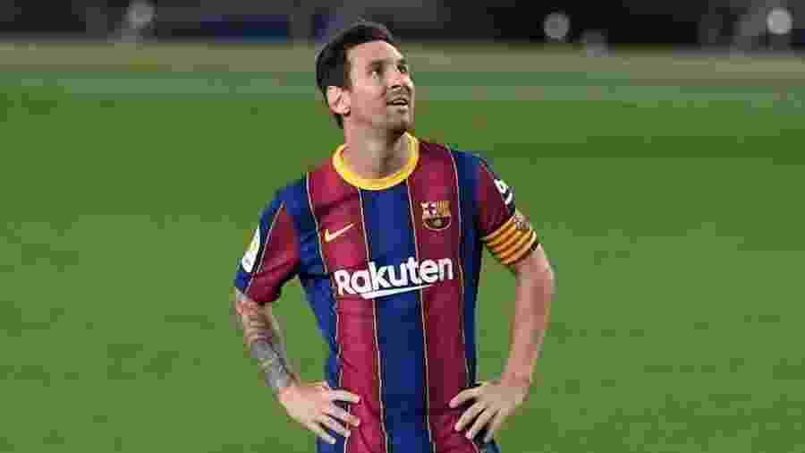 O técnico Ronald Koeman decidiu não relacionar Messi para a partida contra o Dínamo de Kiev - Josep Lago/Efe