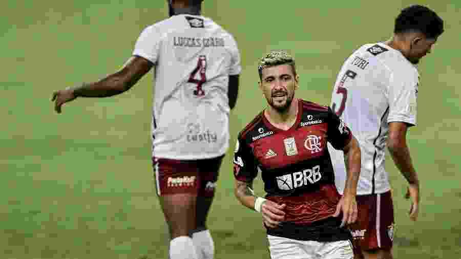 Arrascaeta será nosso capitão - Thiago Ribeiro/AGIF