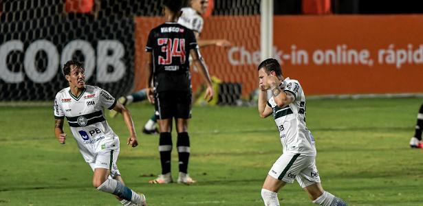 Brasileirão   Coritiba vence por 1 a 0 o Vasco, que conhece primeira derrota com Luxa