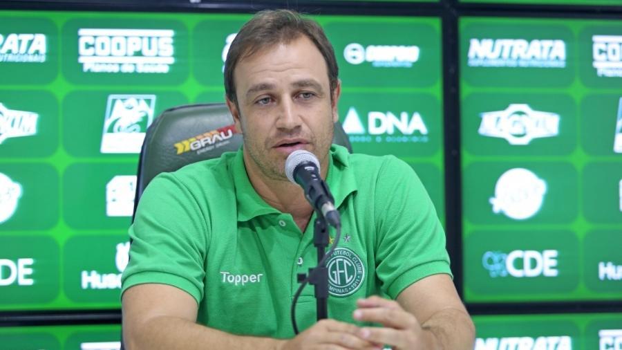 Felipe Conceição tem 41 anos e já trabalhou em Botafogo, América-MG, Red Bull Bragantino e Guarani - Thomaz Marostegan