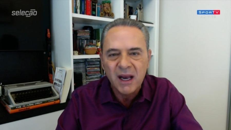 Luis Roberto se revolta com realização de Copa América no Brasil - Reprodução/SporTV