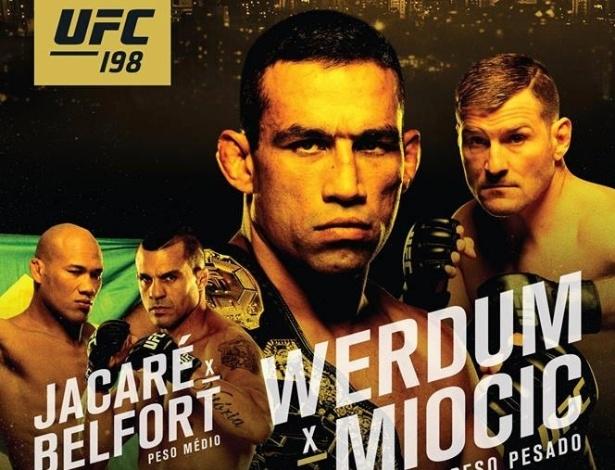 Evento com nomes de peso acontece em 14 de maio em Curitiba - Divulgação/UFC