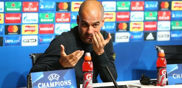 Guardiola não levantou taças no Manchester City desde que chegou em 2016