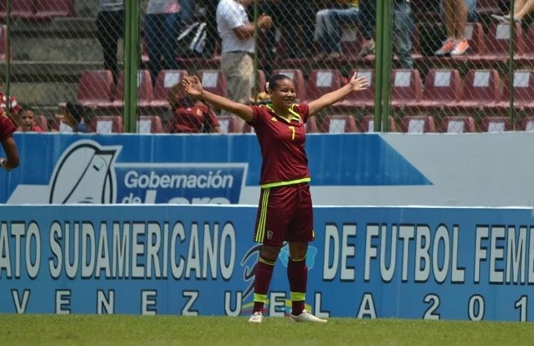 Daniuska Rodríguez (VEN/Venezuela): concorre a Prêmio Puskas de gol mais bonito do ano