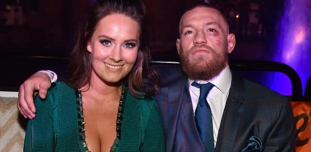 Conor McGregor e Dee Devlin - David Becker/Getty Images