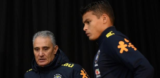 Thiago Silva voltará a ser capitão com Tite