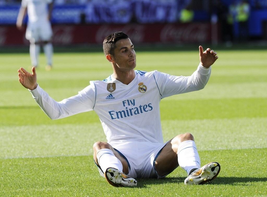 Cristiano Ronaldo não jogou bem contra o Alavés