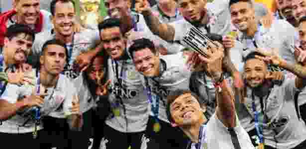Corinthians foi o campeão brasileiro deste ano - Ale Cabral/AGIF