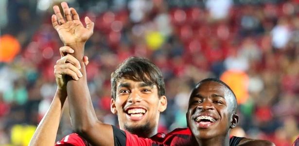 Lucas Paquetá e Vinicius Júnior são jovens valiosos do Flamengo