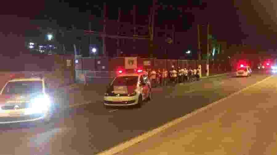 Torcida do São Paulo fez protesto na frente do CT já no ano passado - José Eduardo Martins/UOL Esporte