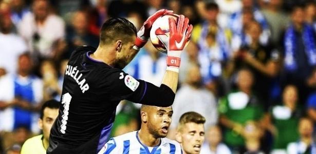 Ivan Cuéllar foi um dos grandes nomes da vitória do Leganés sobre o Barcelona - Reprodução/Instagram
