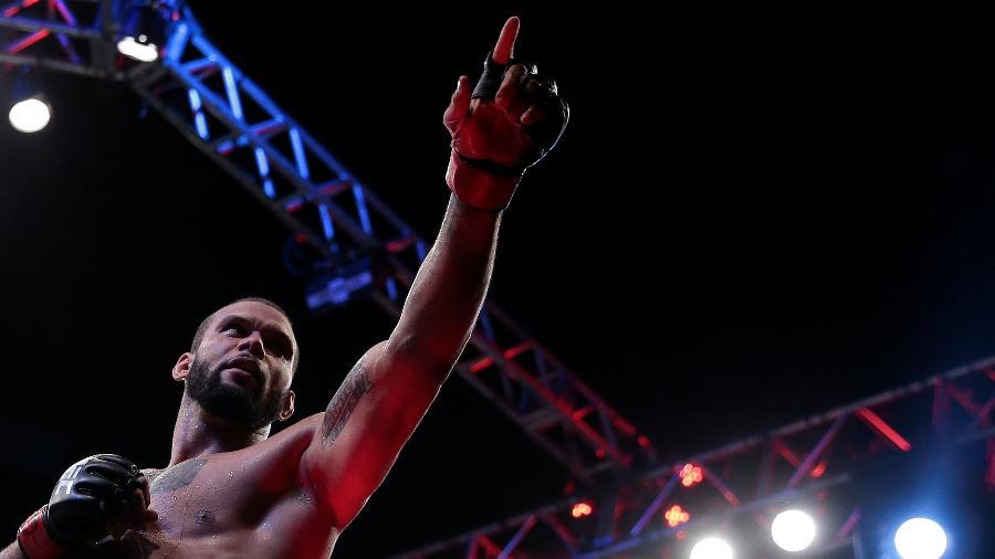 Thiago Marreta no UFC de São Paulo, no dia 23 de setembro de 2018 - Leonardo Benassatto/Reuters