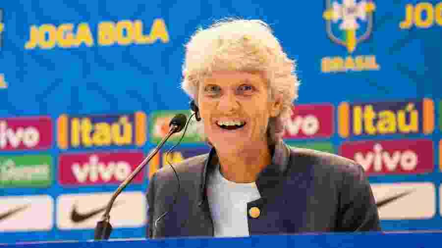 Pia Sundhage convoca a seleção brasileira feminina - Bruno Egger / MoWA Press