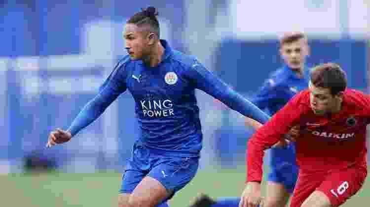 Faiq Bolkiah, em ação pelo time B do Leicester; bruneano é o jogador mais caro do mundo - Divulgação - Divulgação