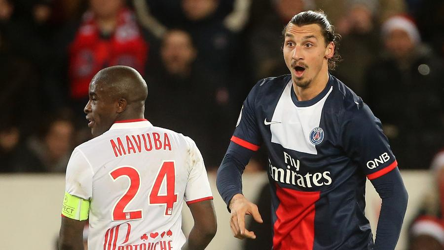 Ibrahimovic atuou pelo PSG entre 2021 e 2016 - John Berry/Getty Images