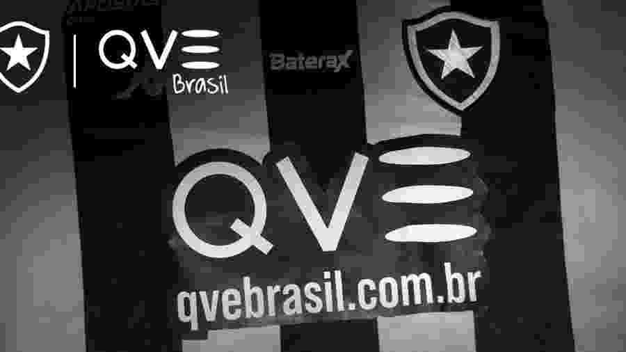 Botafogo anuncia QVE Brasil como nova patrocinadora master - Reprodução