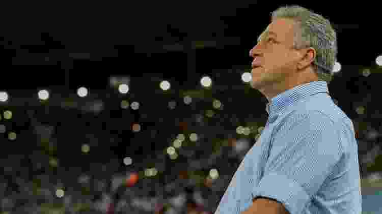 Abel Braga tem laço profundo com o Fluminense forjado na alegria e também na tristeza - Lucas Mercon/Fluminense FC - Lucas Mercon/Fluminense FC