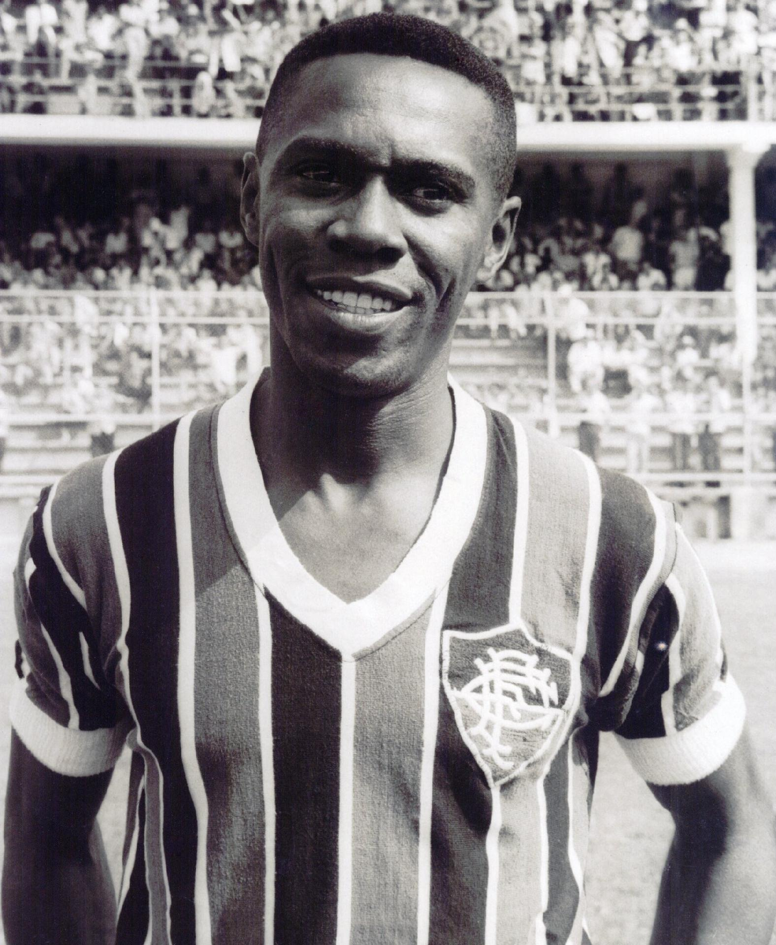 Escurinho, ídolo do Fluminense