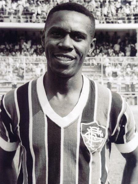 Escurinho, ídolo do Fluminense - Divulgação/Fluminense