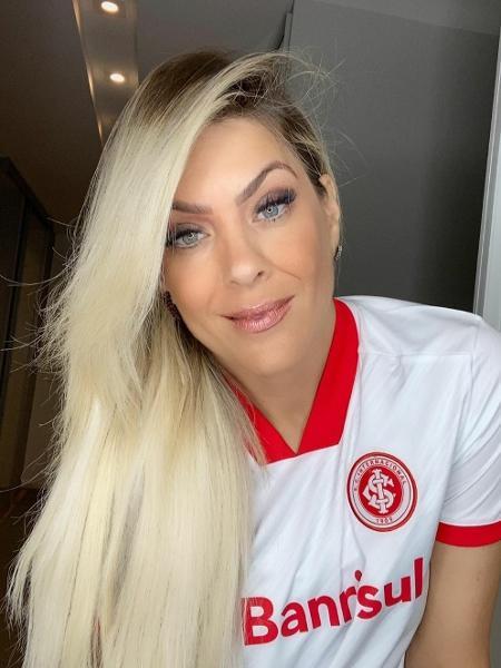 Renata Fan celebra vitória do Inter sobre o Fortaleza - Reprodução/Instagram