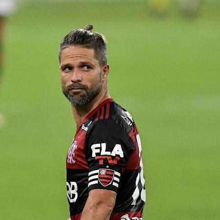 Diego Ribas em ação pelo Flamengo - Thiago Ribeiro/AGIF