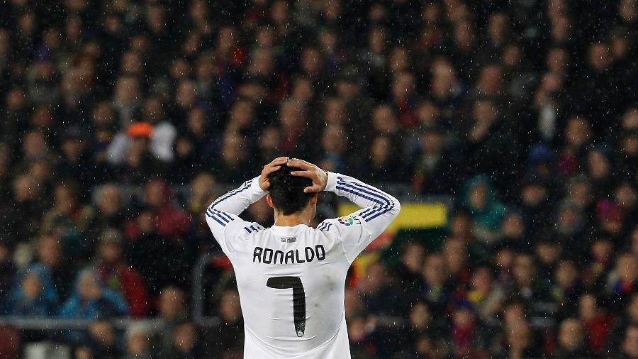 Cristiano Ronaldo em jogo do Real Madrid, em 2010 - David R. Anchuelo/Real Madrid via Getty Images