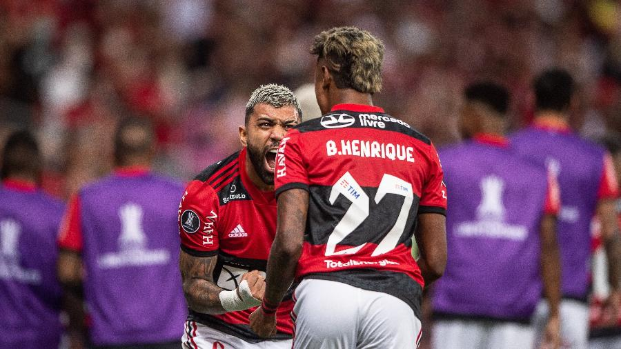 Flamengo está na fase final da Libertadores e Copa do Brasil e poderá ajudar a criar ¨9 no Campeonato Brasileiro - Thiago Ribeiro/AGIF
