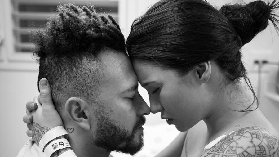 Fred, do Desimpedidos, postou foto ao lado de Bianca Andrade antes do parto do filho Cris - Reprodução